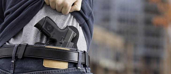 jak nosic broń kolekcjonerską