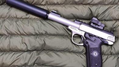 pistolet bocznego zapłonu